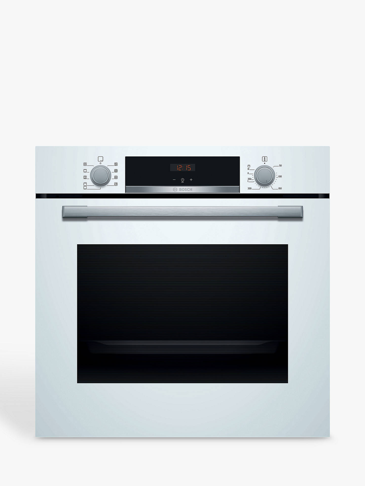 BuyBosch HBS534BW0B Built-In Single Oven, White Online at johnlewis.com