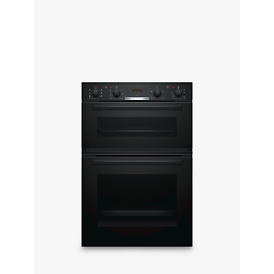 Image of Bosch Built In Double Oven in Black MBS533BB0B