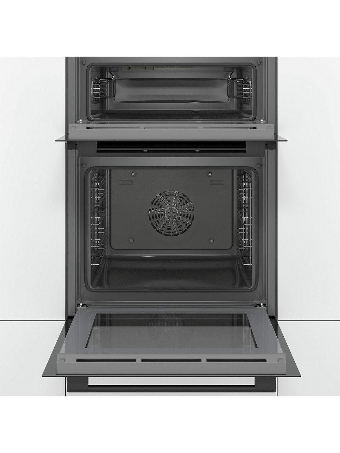 Buy Bosch Serie 4 MBS533BB0B Built-In Double Oven, Black Online at johnlewis.com