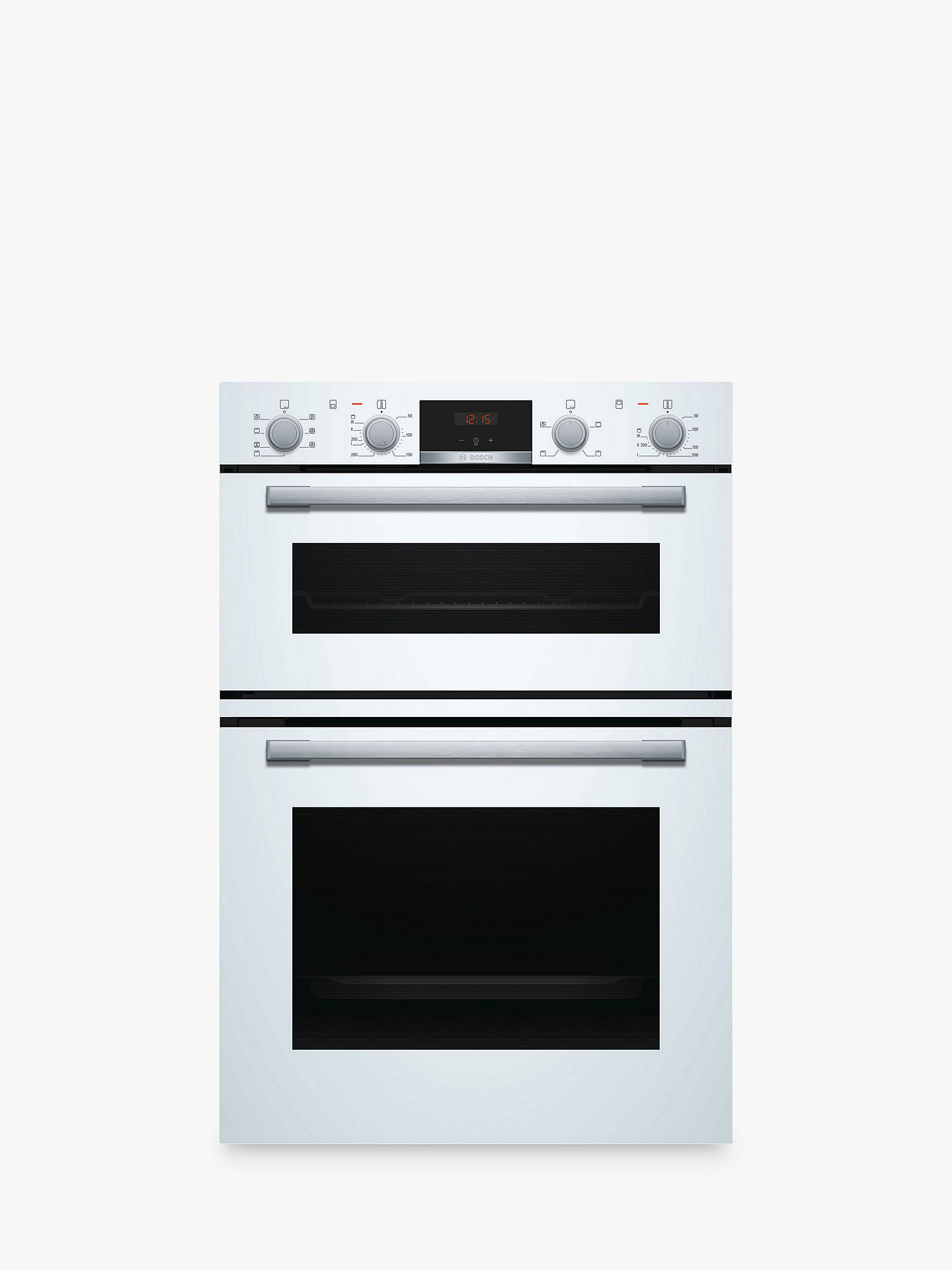 bosch serie 4 mbs533bw0b built in double oven white at. Black Bedroom Furniture Sets. Home Design Ideas