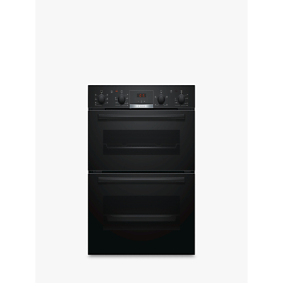Image of Bosch NBS533BB0B Black Electric Double Oven