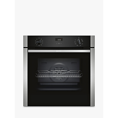 Neff B1ACE4HN0B Built-In Single Oven, Stainless Steel