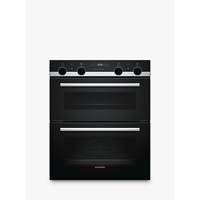 Siemens NB535ABS0B Built-Under Double Oven, Black