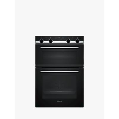 Siemens MB557G5S0B Built-In Double Oven, Black