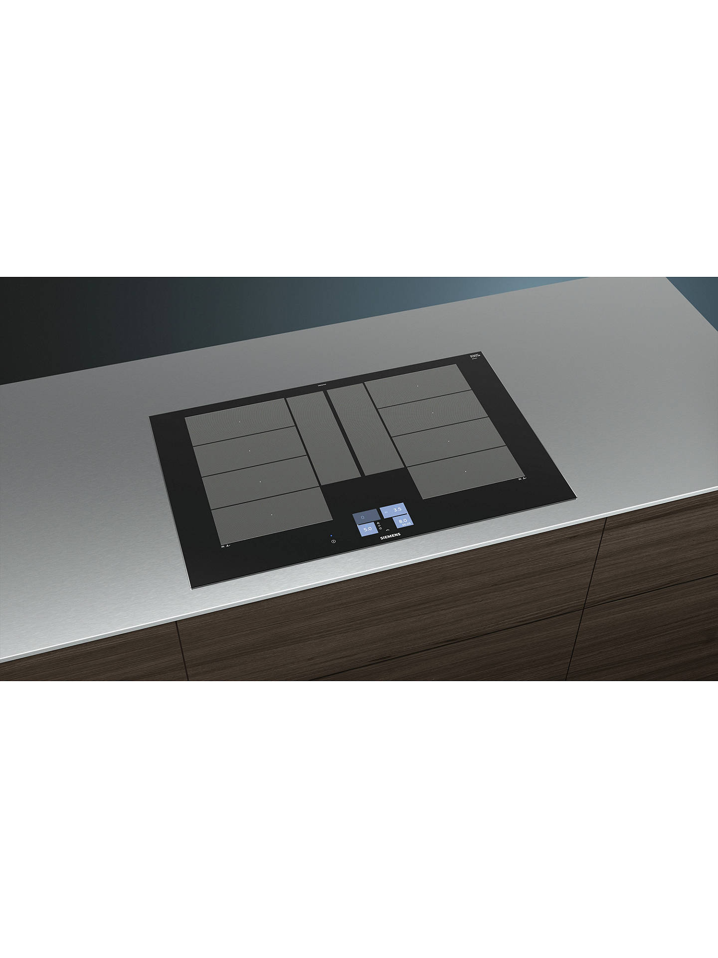 BuySiemens EX875KYW1E Induction Hob, Black Online at johnlewis.com