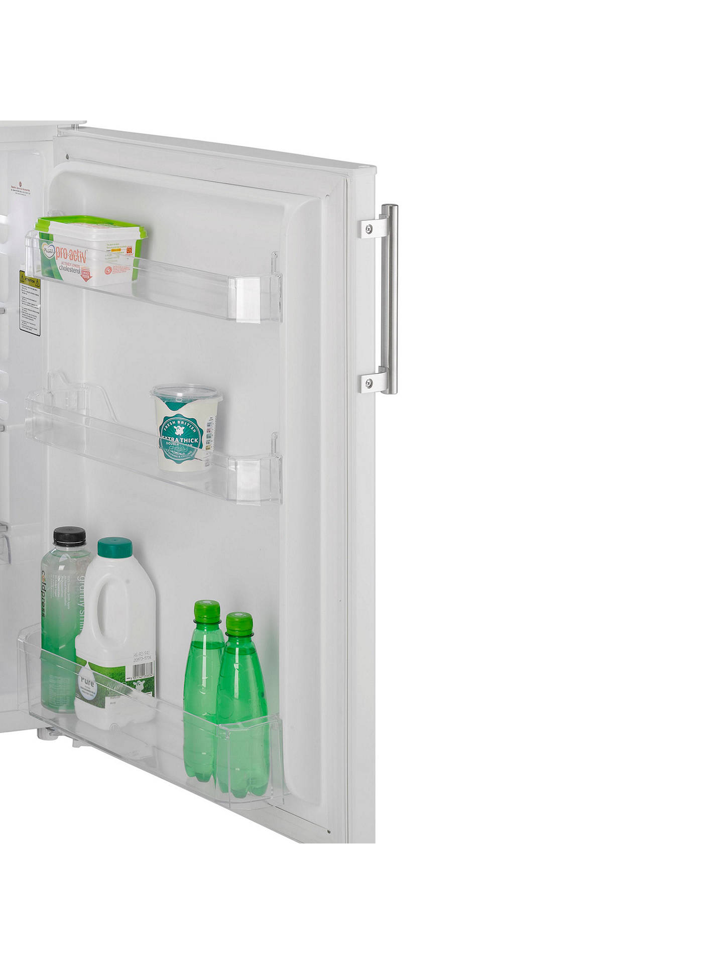 BuyHoover HVTL542WHK Freestanding Undercounter Larder Fridge, A+ Energy Rating, 55cm Wide, White Online at johnlewis.com