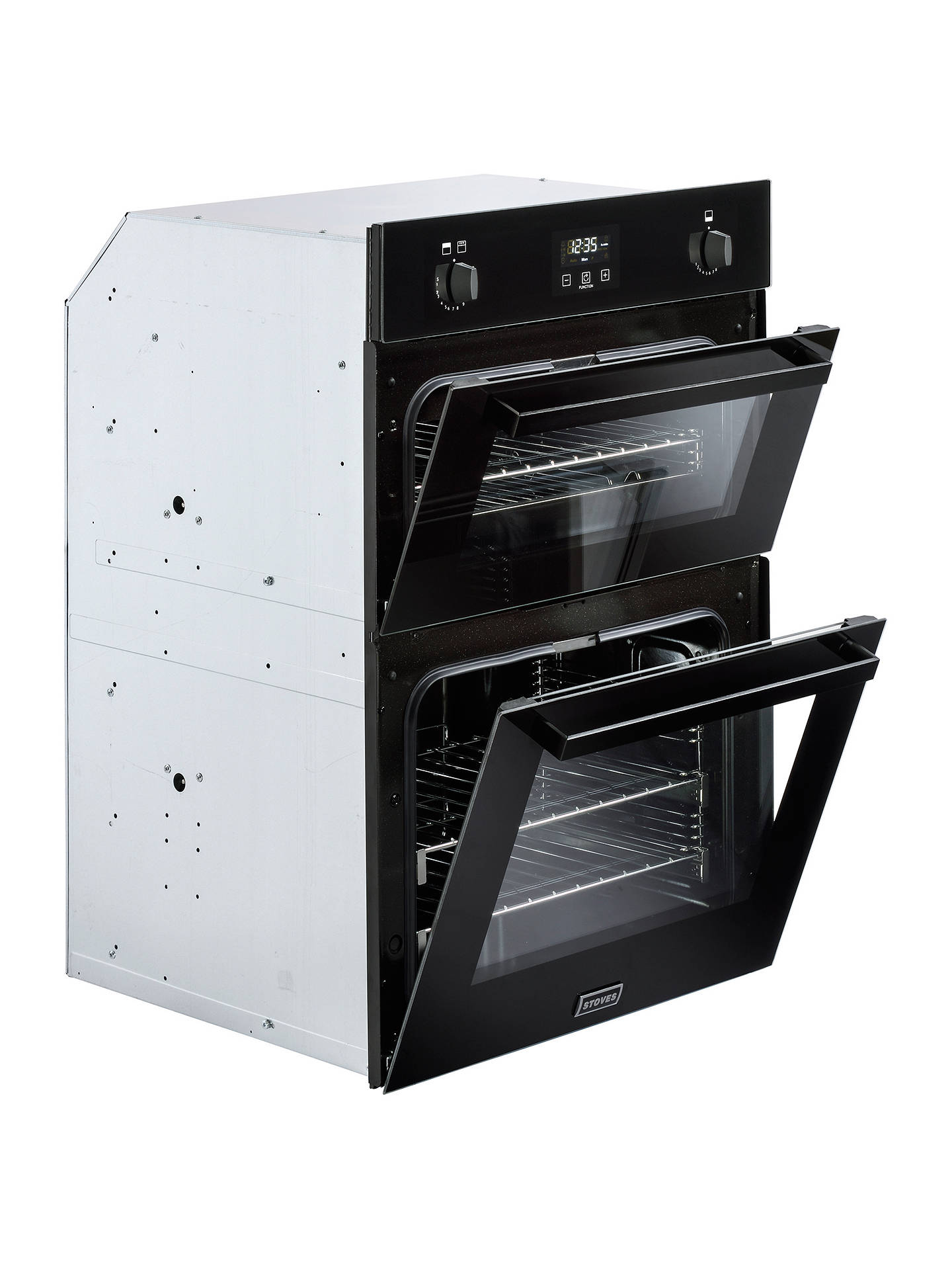 stoves stbi900g built in double gas oven at john lewis. Black Bedroom Furniture Sets. Home Design Ideas