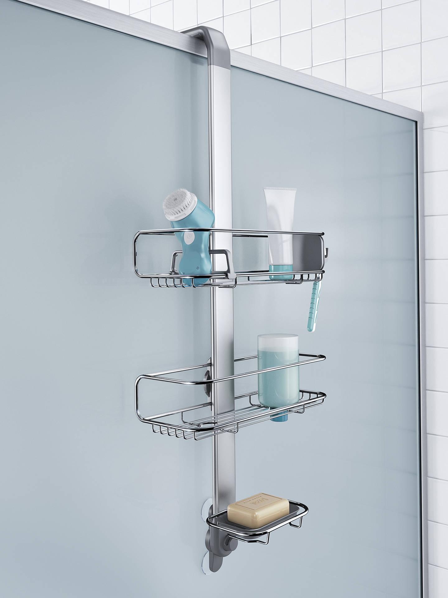 Simplehuman Over Door Shower Caddy At John Lewis Partners