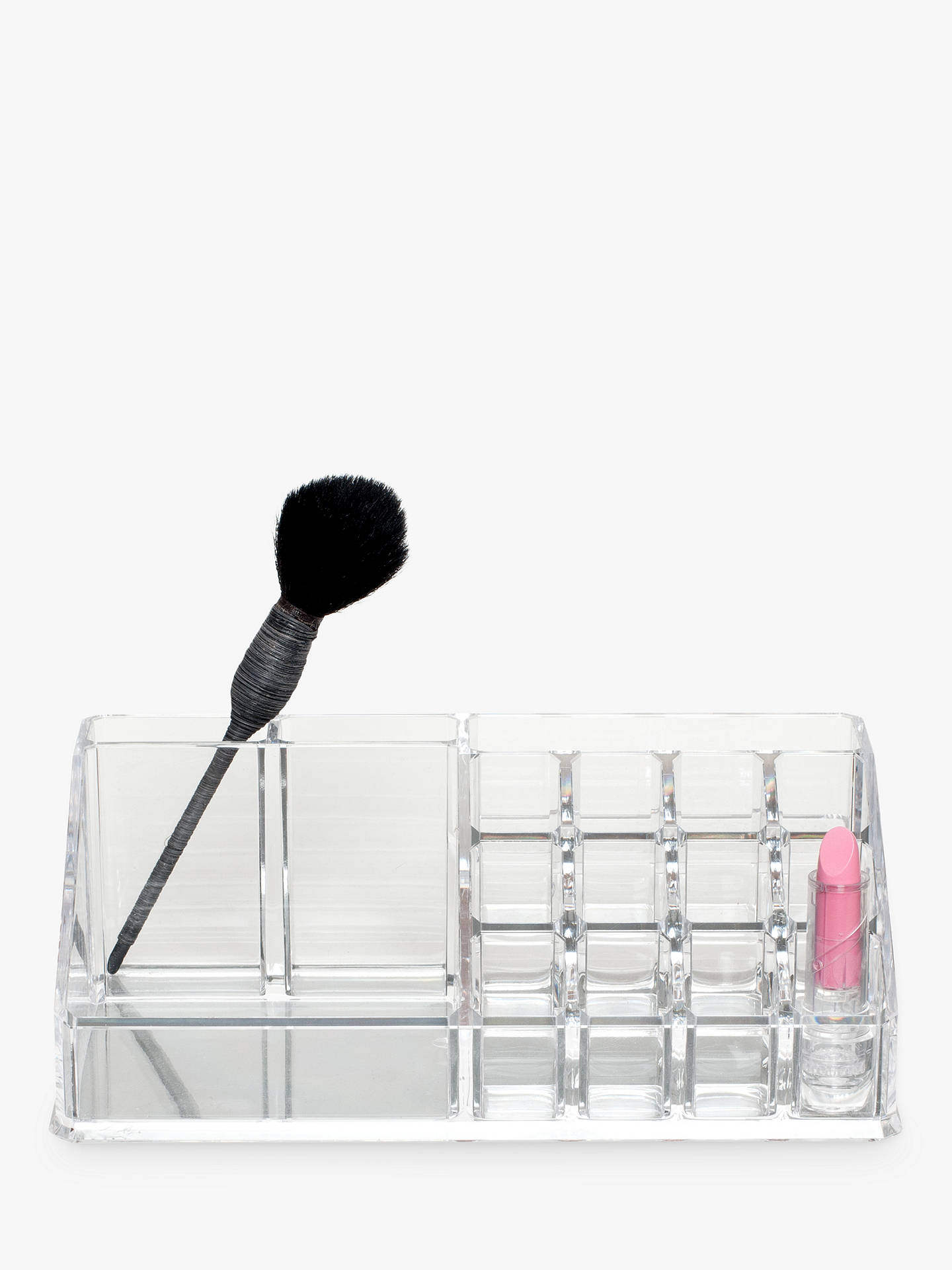 BuyBlissHome Glam Cosmetics Organiser, Clear Online at johnlewis.com