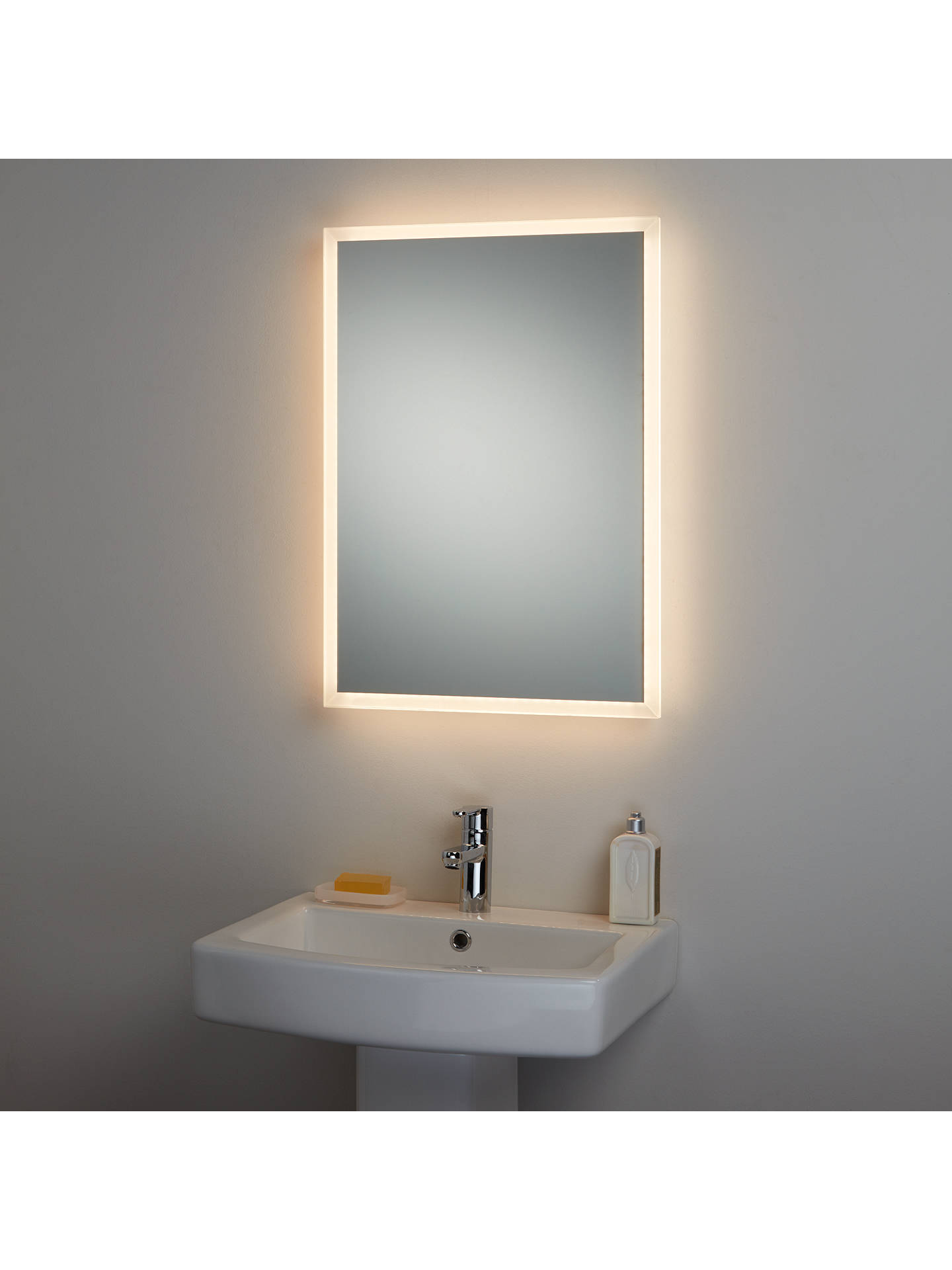 BuyJohn Lewis & Partners Colour Changing Glow Bathroom Mirror Online at johnlewis.com