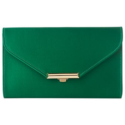 L.K.Bennett Sissi Clutch Bag, Mint