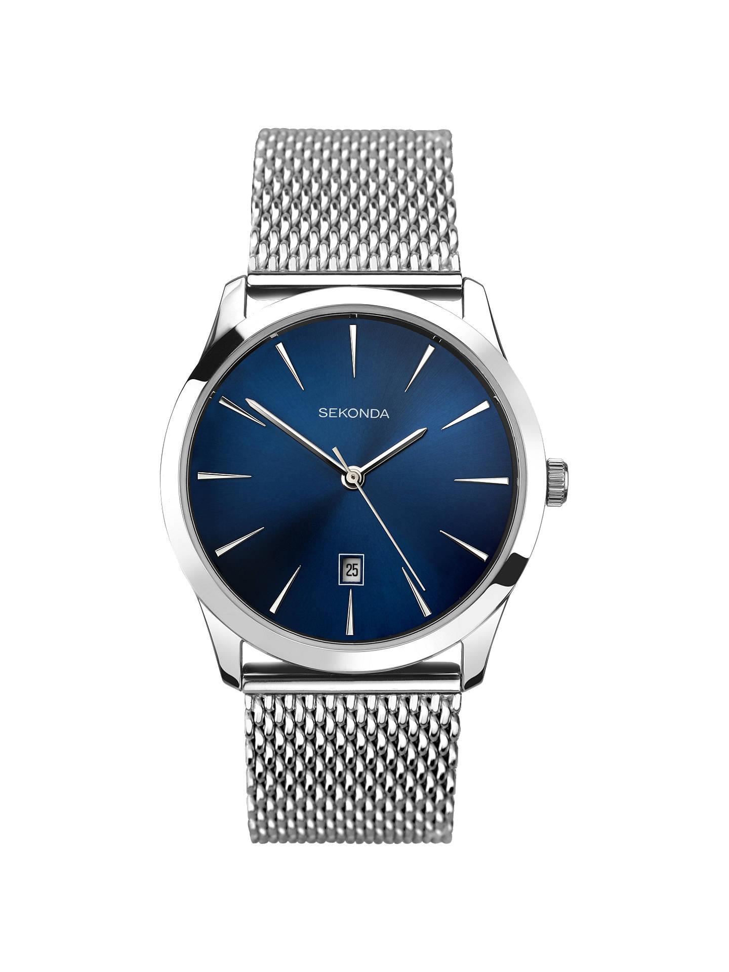 8b0d7bee190d Buy Sekonda 1065.27 Men s Date Bracelet Strap Watch