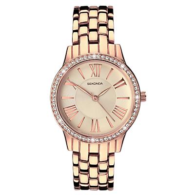 Sekonda Women's Crystal Bracelet Strap Watch