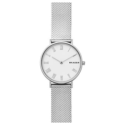 Skagen Women's Hald Mesh Bracelet Strap Watch
