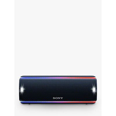 Image of Sony SRS-XB31 Extra Bass Waterproof Bluetooth NFC Portable Speaker with LED Ring & Strobe Lighting