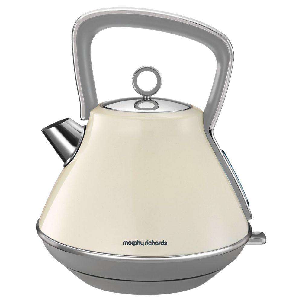 Morphy Richards Morphy Richards Evoke Pyramid Kettle, Red