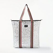 Buy Becksondergaard Rellana Metallic Bag, Silver Online at johnlewis.com