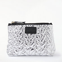 Buy Becksondergaard Lola Metallic Pouch, Silver Online at johnlewis.com