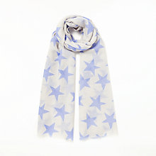 Buy Becksondergaard Supersize Nova Scarf, Pale Iris Online at johnlewis.com