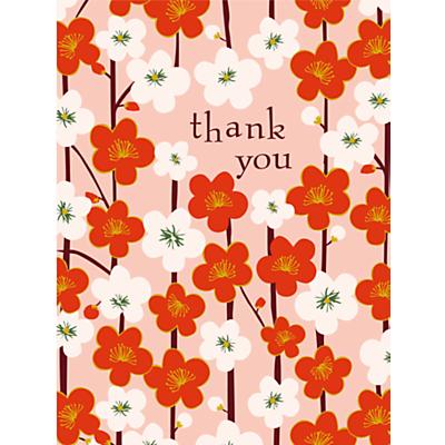 Image of Caroline Gardner Kimono Floral Thank You Notecards, Pack of 10