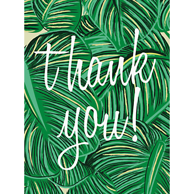 Image of Caroline Gardner Tropical Thank You Notecards, Pack of 10