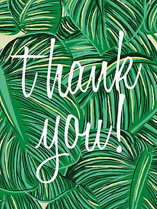 Notecards invitations john lewis caroline gardner tropical thank you notecards pack of 10 stopboris Image collections