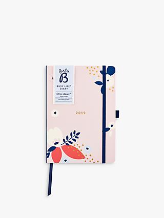 Busy B Life Pretty Floral Diary 2019
