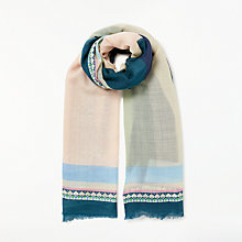 Buy Becksondergaard Asak Scarf, Blue Nights Online at johnlewis.com