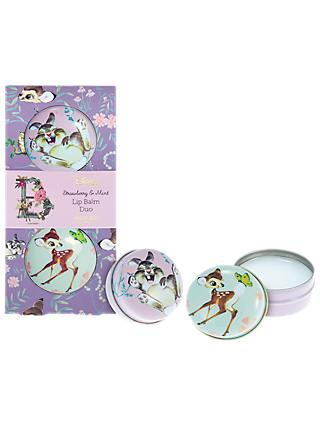 Mad Beauty Disney Bambi Lip Balm Duo Set