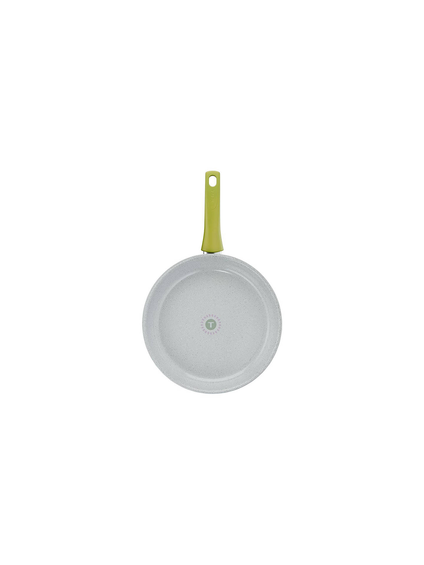 BuyTefal Non-Stick Veggie Frying Pan, 28cm, Grey/Green Online at johnlewis.com