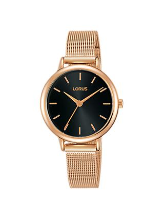 Lorus Women's Mesh Bracelet Strap Watch