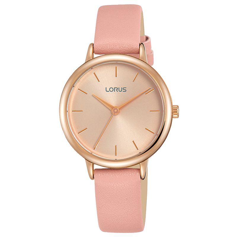 Lorus Lorus Women's Leather Strap Watch