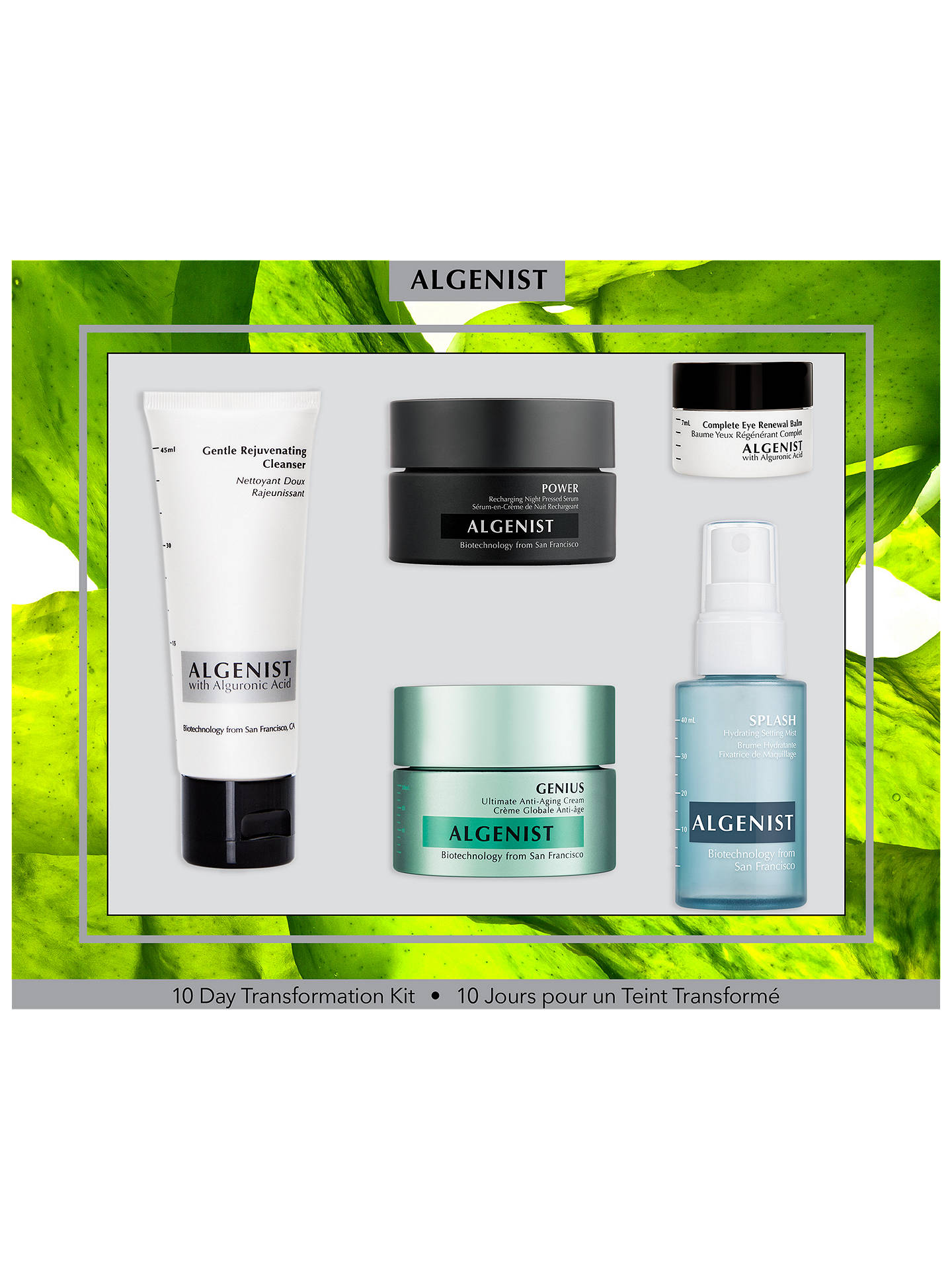 BuyAlgenist 10 Day Transformation Skincare Kit Online at johnlewis.com