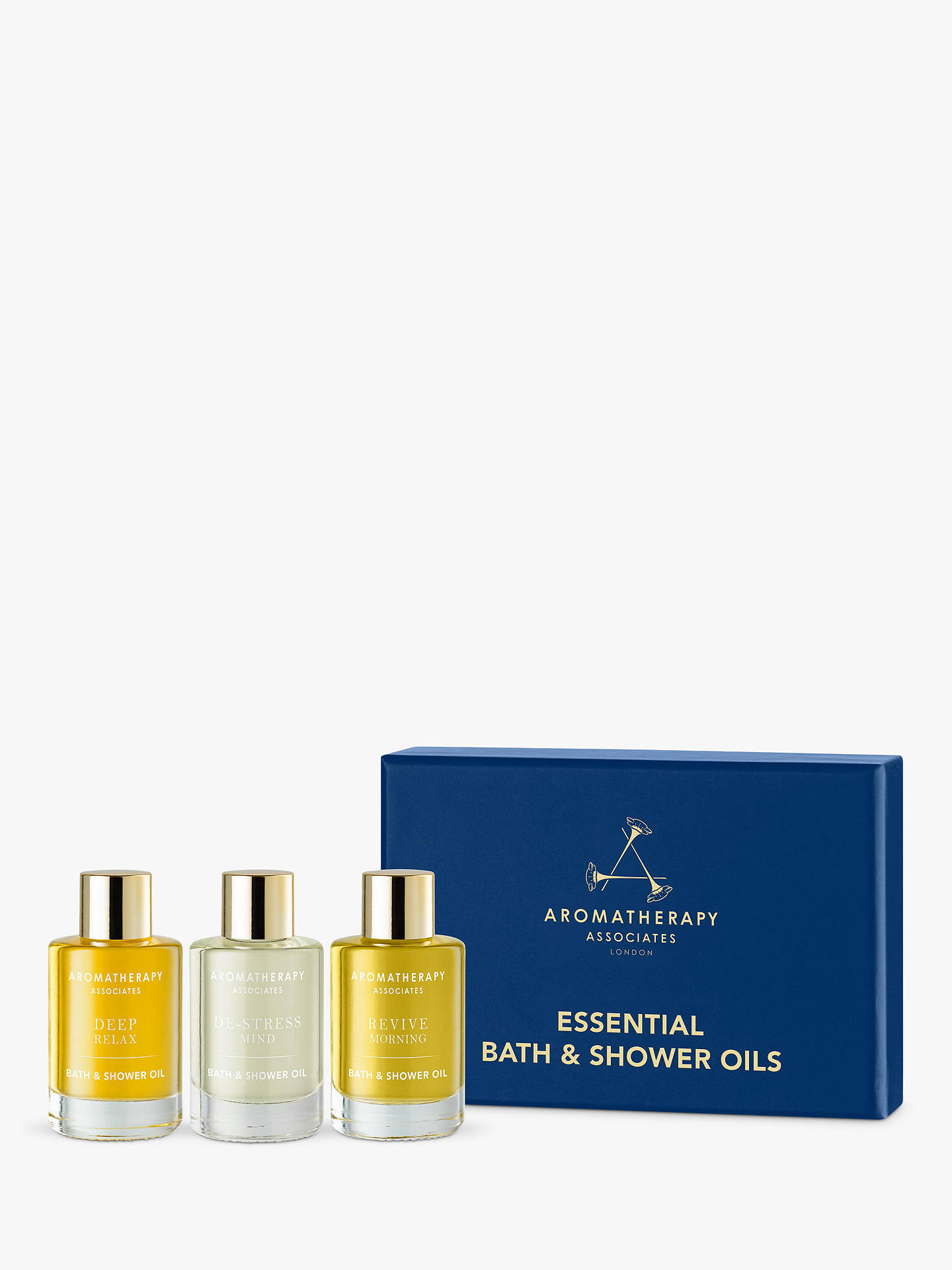 Buy Aromatherapy Associates Bath & Shower Oil Gift Set Online at johnlewis.com