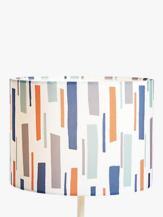 little home at John Lewis Fragments Lampshade, Blue