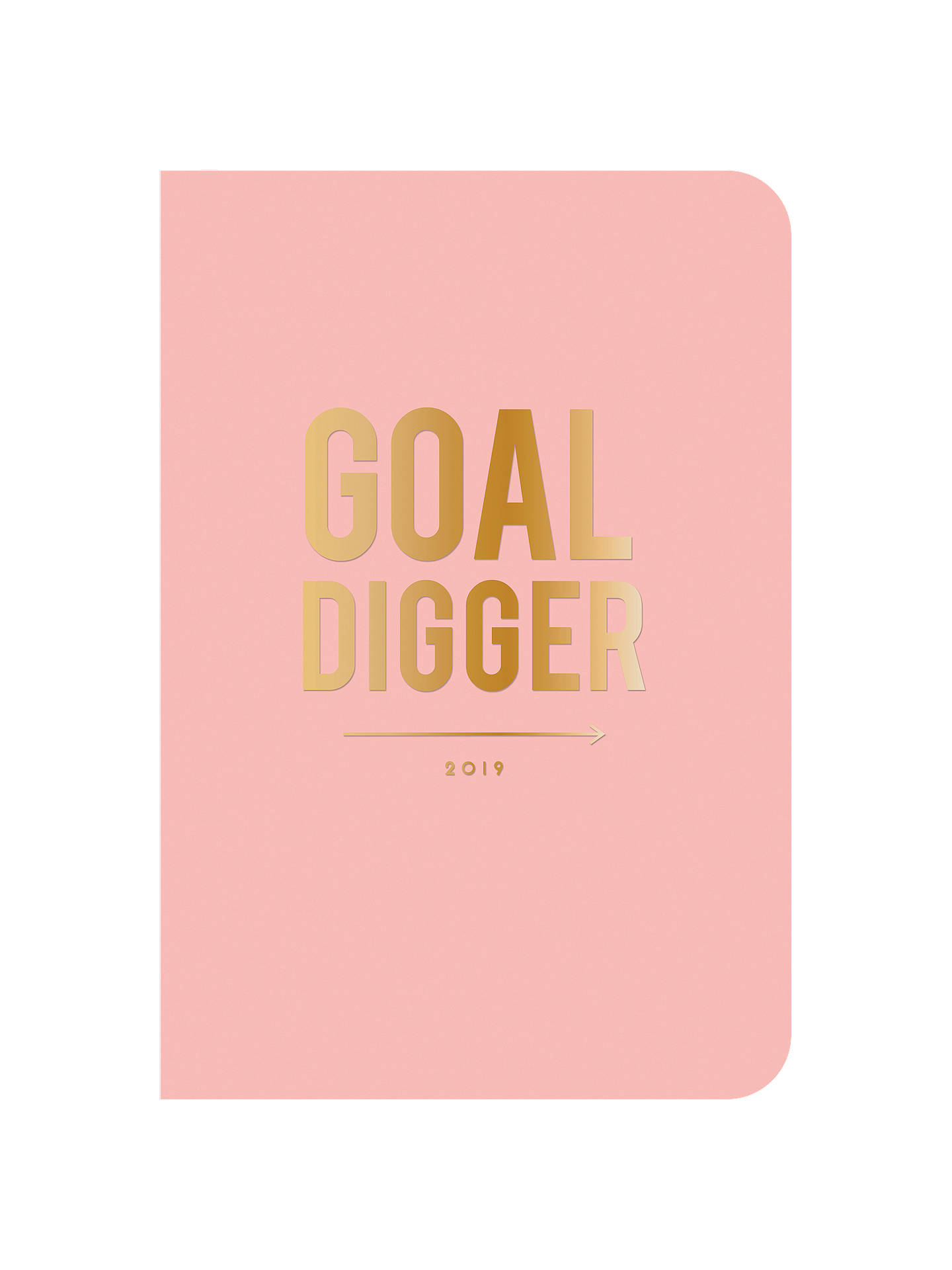 BuyAlice Scott 2019 Goal Digger Flexi Diary, A5 Online at johnlewis.com