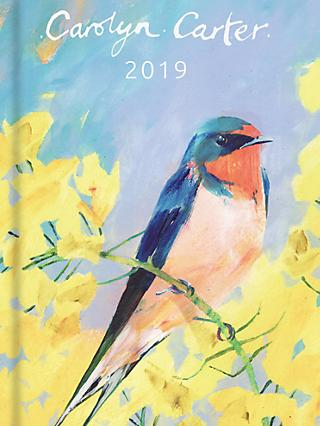 Portico Carolyn Carter Slim 2019 Diary