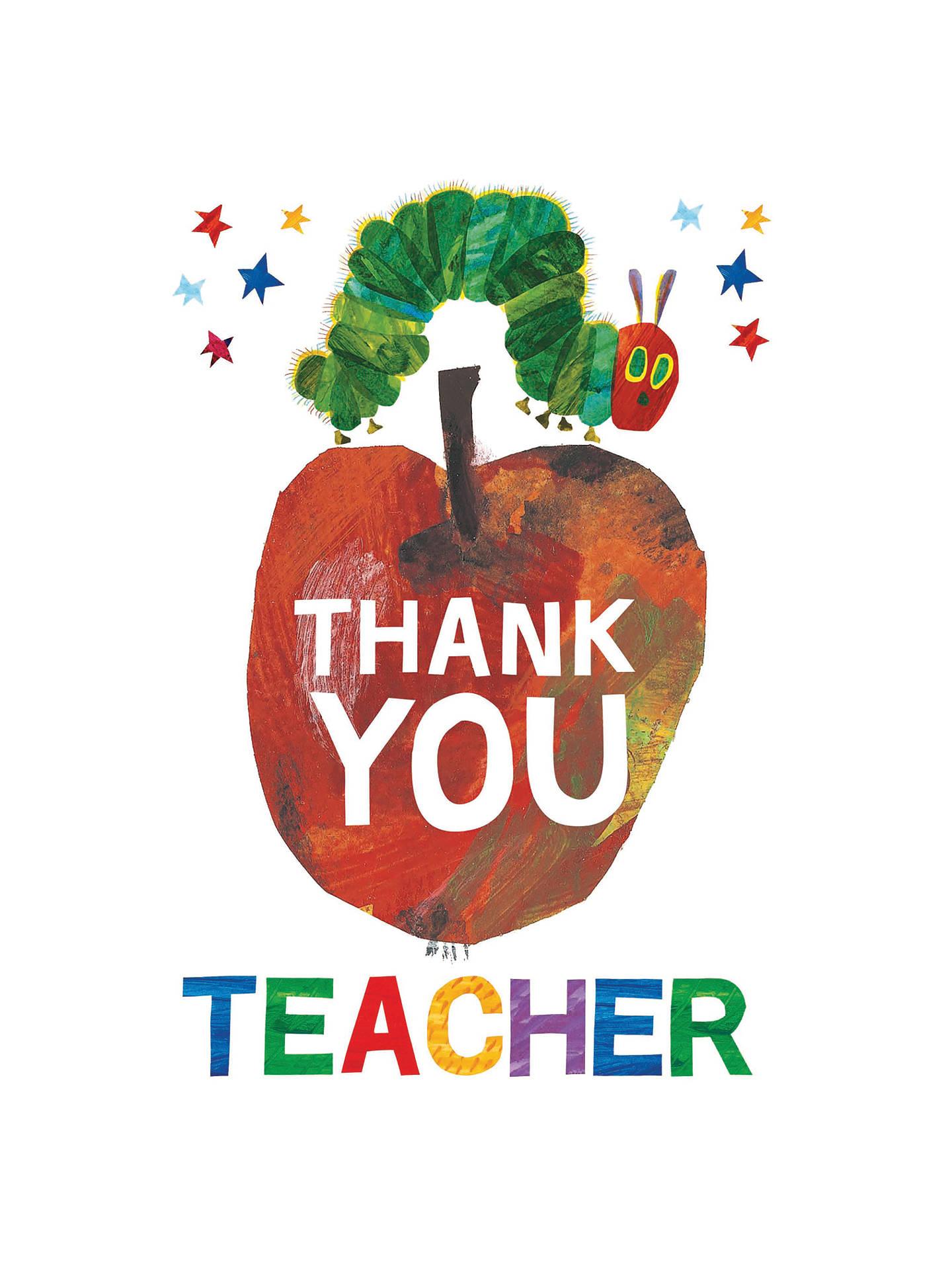 Woodmansterne Thank You Teacher Card at John Lewis & Partners