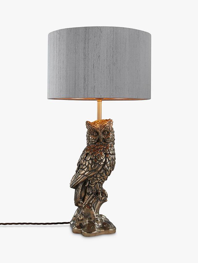 David Hunt Owl Table Lamp Bronze, Owl Table Lamp