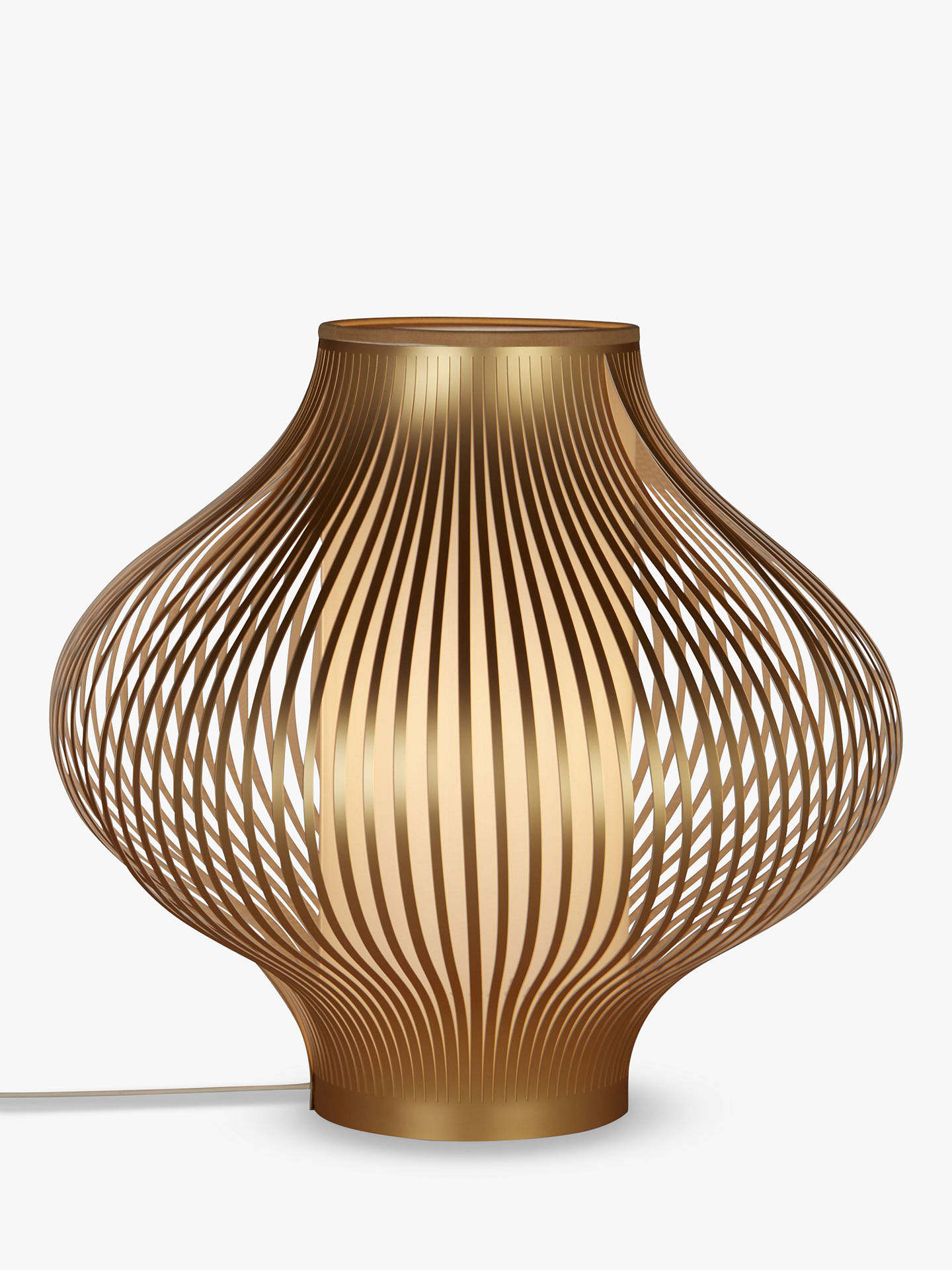 John Lewis & Partners Harmony Ribbon Small Table Lamp ...