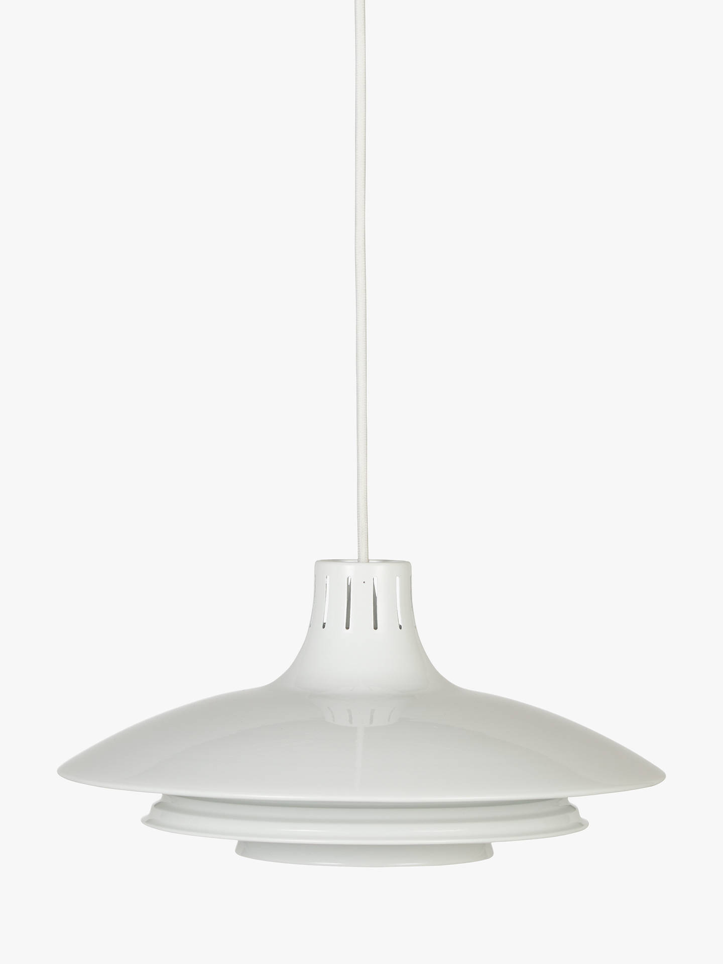 BuyHouse by John Lewis Stockholm Easy-to-Fit Ceiling Shade, White Online at johnlewis.com