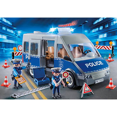 Playmobil City Life 9236 Police Van With Lights And Sound
