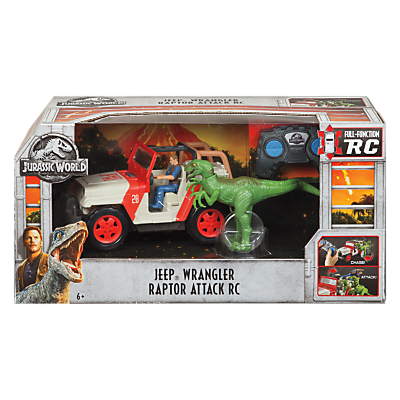 Jurassic World Remote Control Jeep Wrangler Raptor Attack