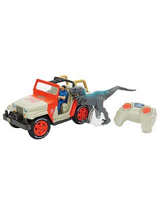 Jurassic World Jeep Wrangler Raptor Attack Radio Controlled Vehicle
