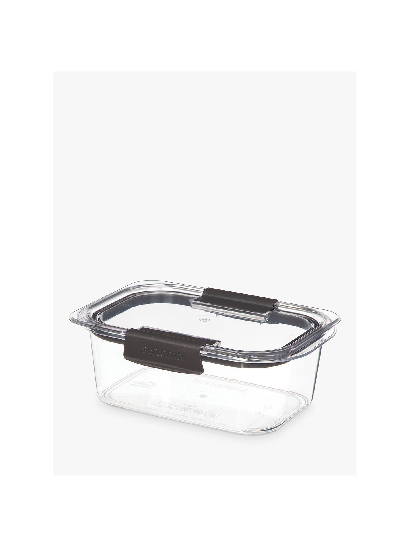BuySistema Brilliance Multi-Purpose Stackable Leak-Proof Container, 920ml Online at johnlewis.com
