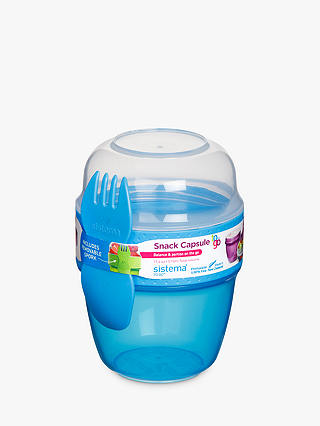 Buy Sistema To-Go Polypropylene Snack Capsule Online at johnlewis.com