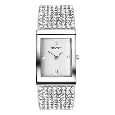 Sekonda Women's Seksy Swarovski Crystal Bracelet Strap Watch