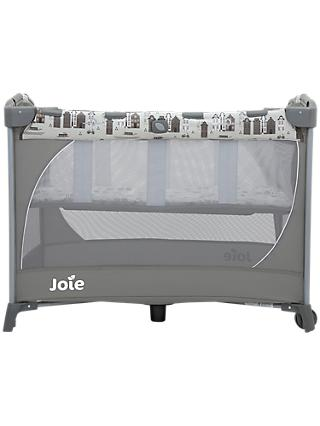 Joie Baby Commuter Change Petite City Travel Cot, Grey