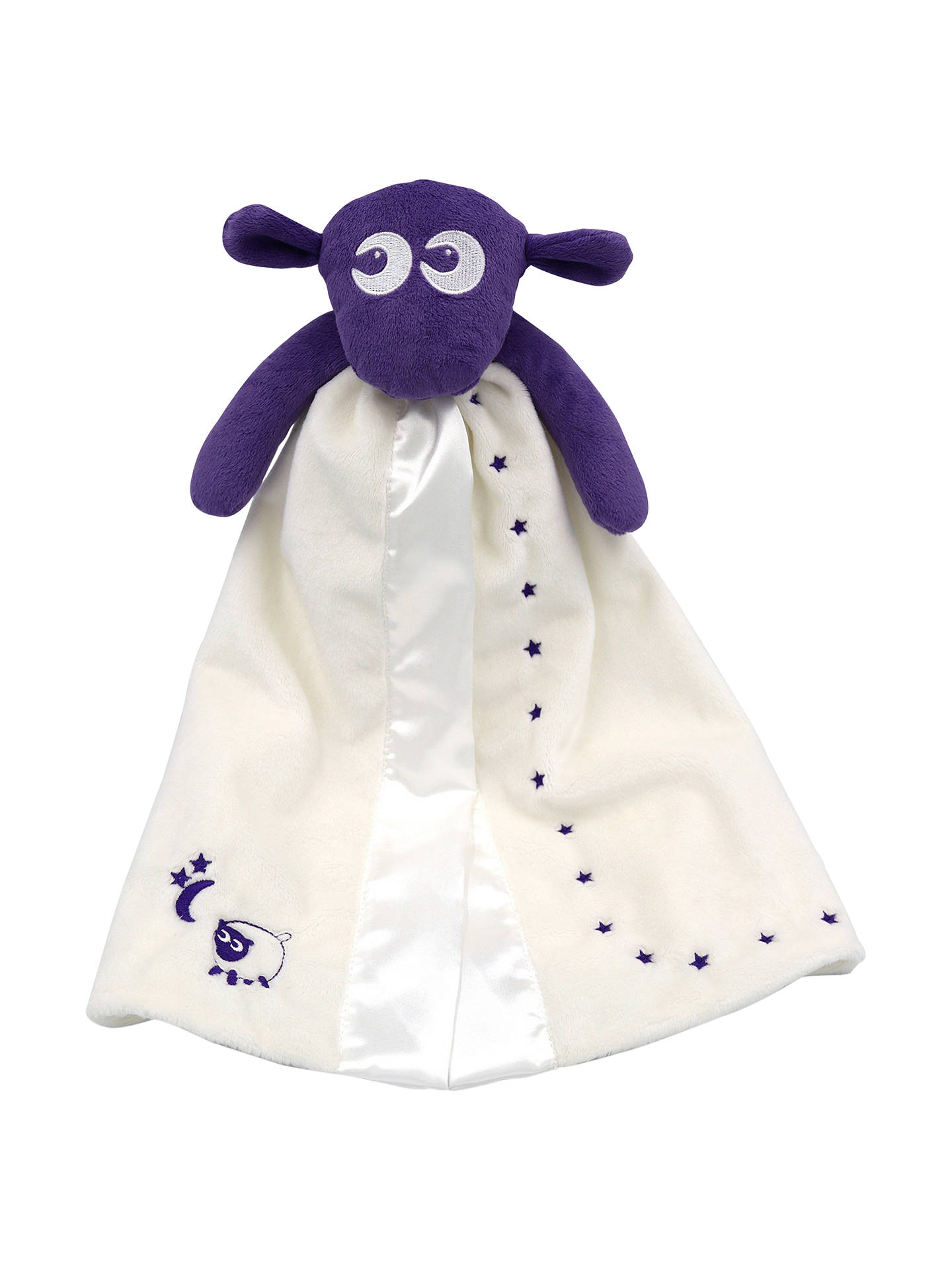 BuyEwan The Dream Sheep Baa Baa Blankie, Purple Online at johnlewis.com