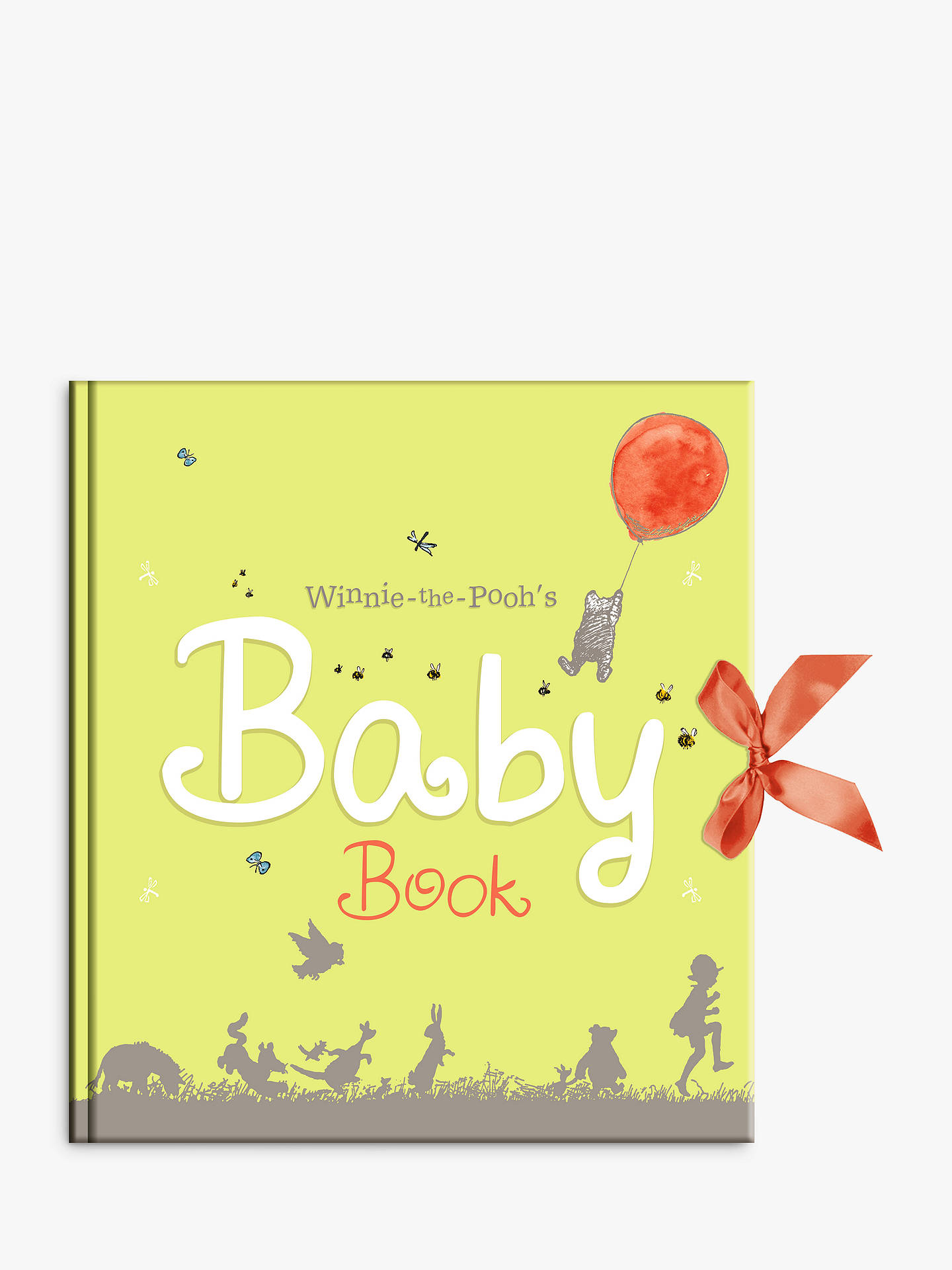 winnie the pooh baby days record book at john lewis  partners